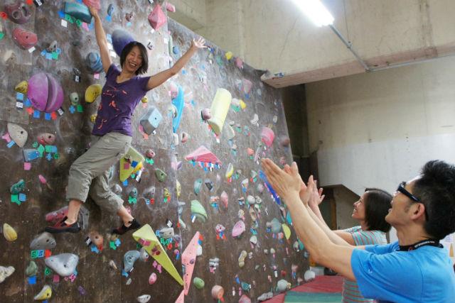 【東京・町田・ボルダリング】広い施設に10面の壁!基本講習付きお試し体験