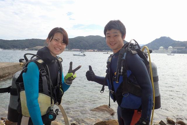 【兵庫・三田発・和歌山・ライセンス取得】本格ダイビングコース・NAUIスクーバダイバー
