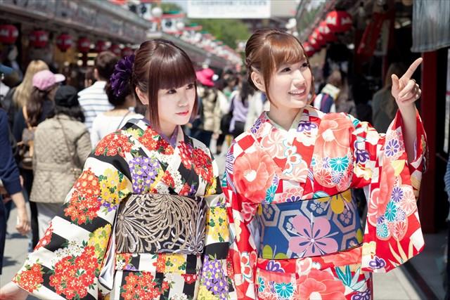 【東京・浅草・着物レンタル】浅草観光が楽しくなる!お得な着物レンタル&着付けプラン