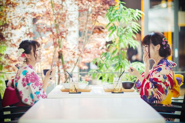 【東京・浅草・着物レンタル】イタリアンディナー付き!お得な着物レンタル&着付けプラン