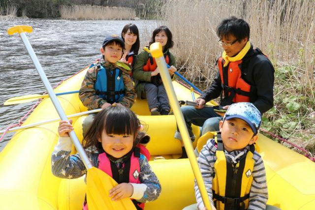 【北海道・千歳・川下り】2歳から参加できる、千歳川下り!空港から車で10分の好アクセス!
