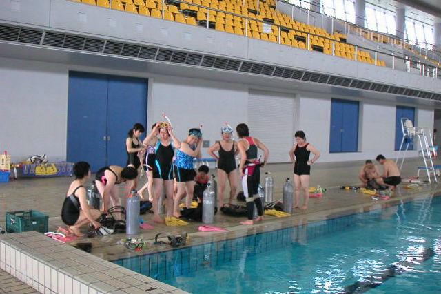 【広島・福山・シュノーケリング】温水プールで快適!シュノーケリングの基本をマスターしよう!