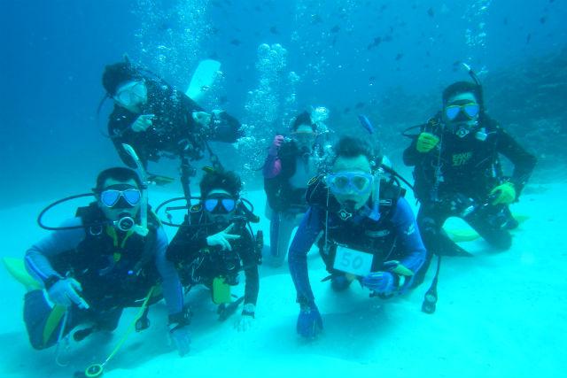 【広島・福山・体験ダイビング】初めてでも安心!温水プールで体験ダイビング