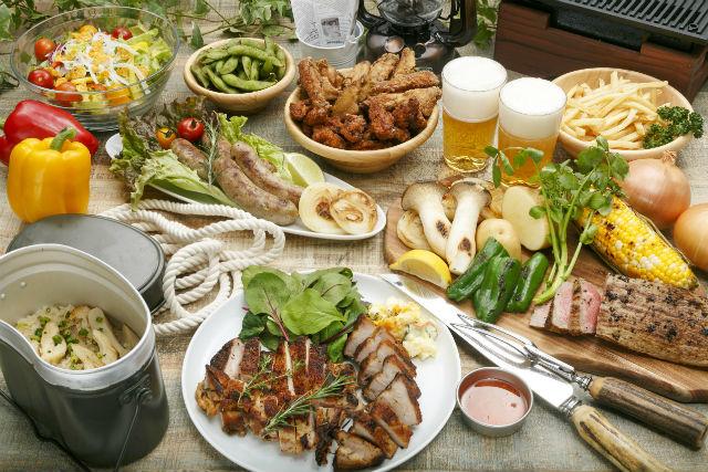 【淡路島・BBQ】絶景オーシャンビューと味わう幸せ!コース料理の贅沢BBQ!