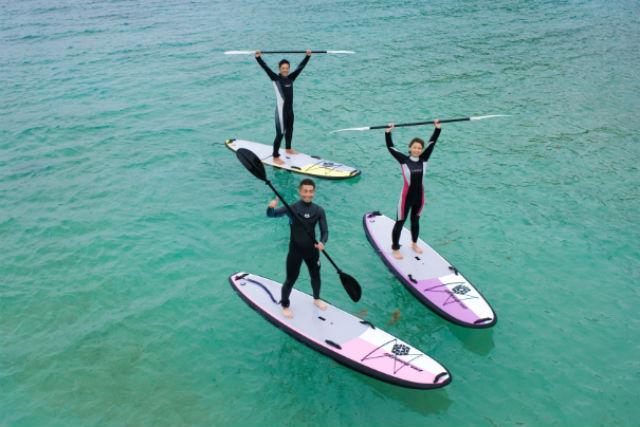 【沖縄・SUP】いにしえの海へ漕ぎだそう!初心者大歓迎の海上クルージング