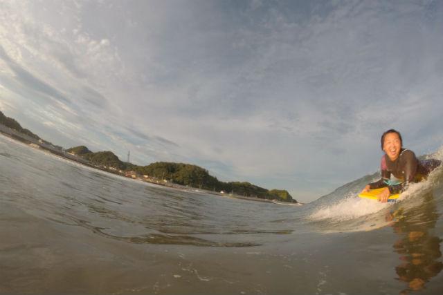 【愛知・伊良湖・ボディボード体験】サーフィンより気軽!爽快感がクセになるボディボード体験