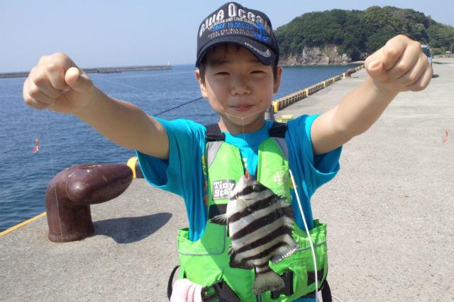 【高知・釣り体験】5歳から楽しめる!堤防でファミリーフィッシング(道具付き)