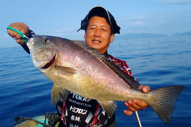 【高知・釣り体験】お魚の宝庫!宿毛湾でボートフィッシング体験(貸切)