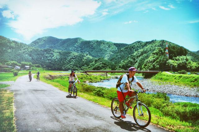 【岐阜・サイクリング】長良川でサイクリング!隠れスポット満載の3時間