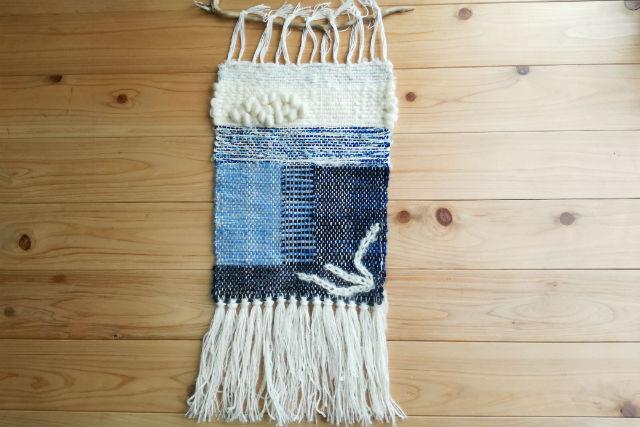 【神奈川・鎌倉・機織り】七里ヶ浜のアトリエで、タペストリーを織ろう