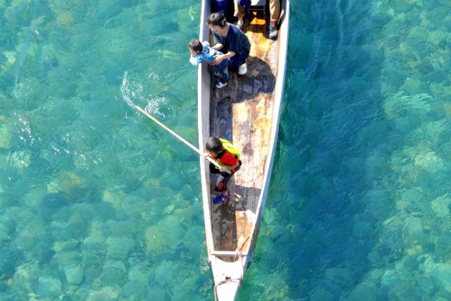 【岐阜・川下り】漁舟で行く、長良川体感ツアー!天然鮎の炭火焼&スイーツ付き!