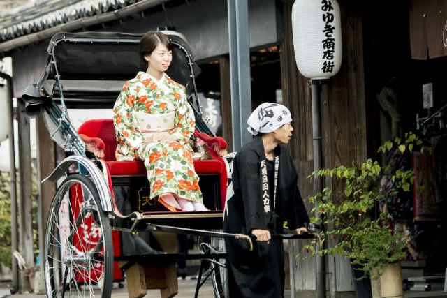 【大分・日田・人力車】風情ある豆田町を、人力車で体感!タイムスリップ旅へ