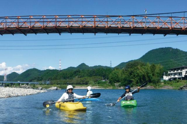 【岐阜・長良川・カヤック】清流・長良川を満喫!カヤックツアー(半日)