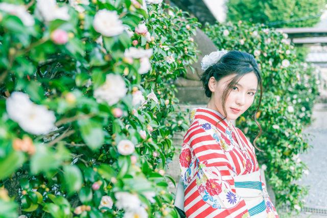 【京都・祇園・着物・浴衣レンタル】八坂神社へ徒歩2分!着物・浴衣レンタルおまかせプラン