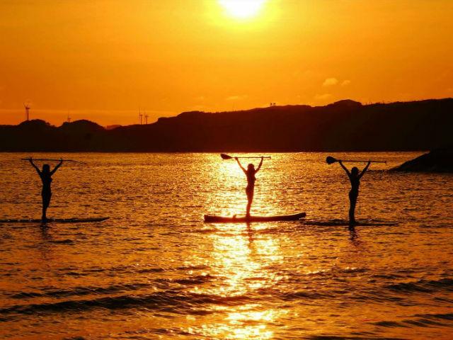 【千葉・銚子・SUP】景勝地! 銚子マリーナ海水浴場で癒されながらSUP体験