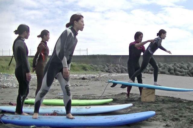 【北海道・札幌・サーフィンスクール】リピータ続出中!少人数制で楽しく丁寧なサーフィンスクール!