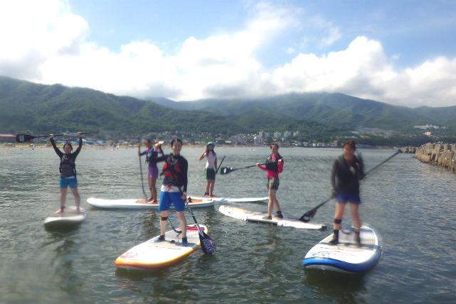 【北海道小樽市・SUP】老若男女に大人気!海でSUP体験