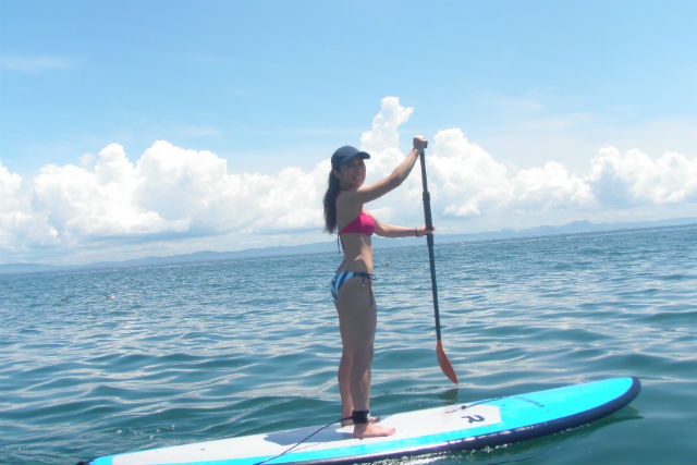 【神奈川・三浦海岸・SUP】波静かな海をお散歩!気軽に遊べるSUP体験