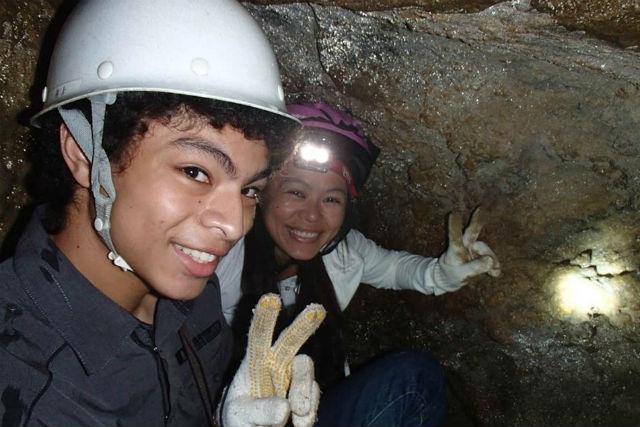 【高知・ケイビング】忍者が修行した洞窟を探検!?猿田洞ケイビングツアー