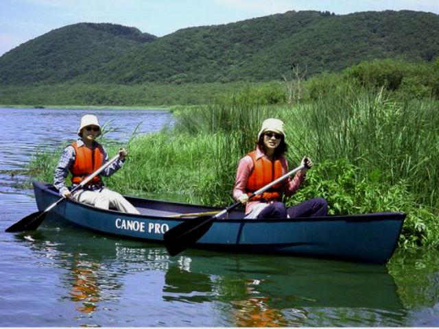 【北海道・釧路・カヌー・60分】手軽にカヌーを満喫できる!釧路湿原・ショートコース