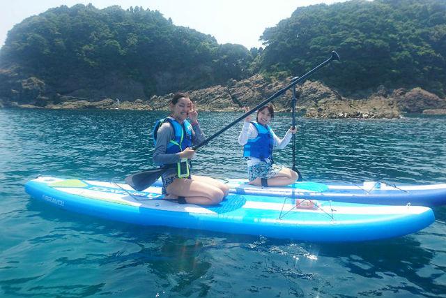 【島根・SUP】遠浅のビーチだから安心!初めてのSUP体験