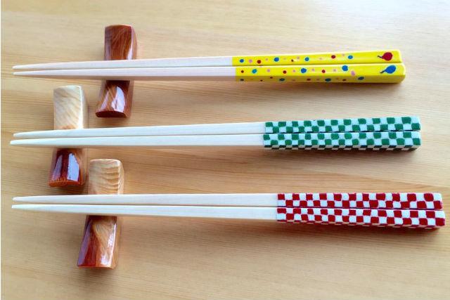 【岐阜・中津川市・箸作り体験】東濃ひのきで箸づくり。カラフルにデザインしよう