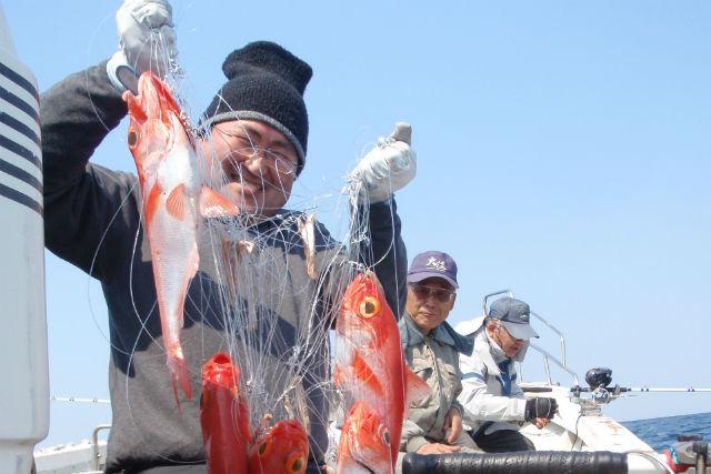 【大分市・釣り体験】金目鯛釣りコース!8時間たっぷり釣りを楽しもう!