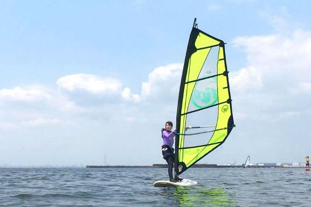 【千葉市・ウィンドサーフィン】海風をつかむ「楽しさ」を実感!1日体験コース