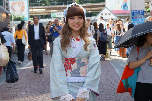 【東京・原宿・着物レンタル】大人かわいいを着こなす!ロリータキモノプラン