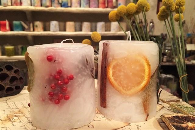 【名古屋・千種区・キャンドル作り】キャンドルに花を咲かせよう!ボタニカルキャンドル