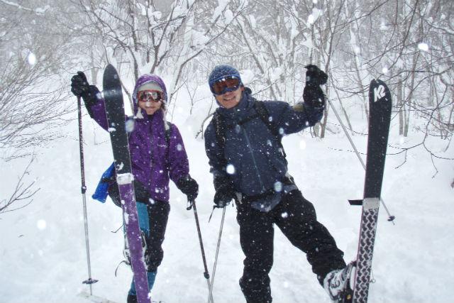 【群馬・沼田市・テレマークスキー】初心者向け!テレマークスキー雪の森お散歩ツアー