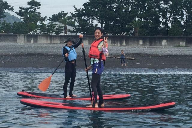 【静岡・SUP】水上散歩で気分爽快!お手軽SUP体験