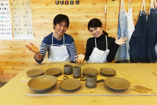 【滋賀・甲賀市・陶芸体験】実用的な器が作れる!電動ろくろ体験