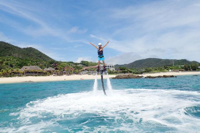 【奄美大島・フライボード】非日常の浮遊感!フライボード体験プラン