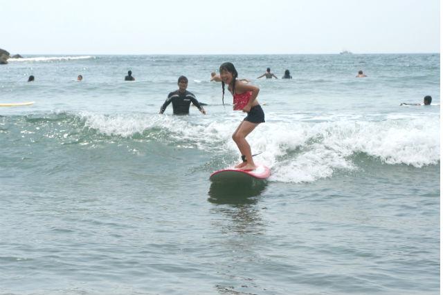 【宮城・仙台市・サーフィン】有名なサーフスポット!宮城新港でサーフィン体験