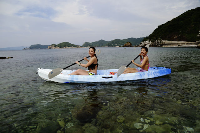 【和歌山・カヤック】白崎海洋公園でシーカヤック体験!日本のエーゲ海を満喫
