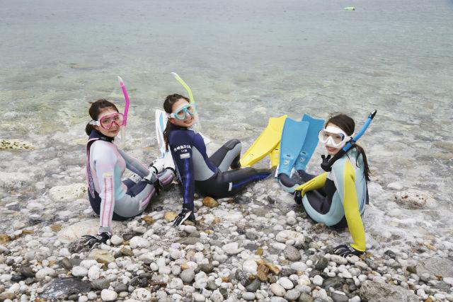 【和歌山・シュノーケリング】日本のエーゲ海で泳ごう!白崎海洋公園・シュノーケリング