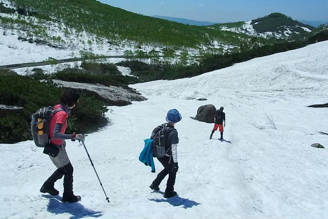 【北海道・小樽市・スノーシュー】下り坂がメイン!らくらくスノーハイキング