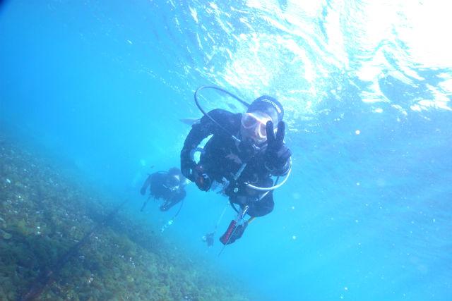 【神奈川・藤沢市・体験ダイビング】未知の世界へダイブ!1日体験ダイビング(湘南江の島)
