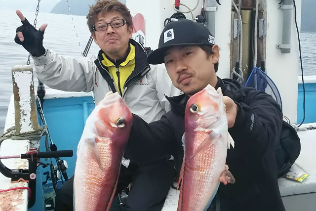 【静岡・熱海・釣り体験】熱海沖でマダイ・アマダイプラン(初心者向け)