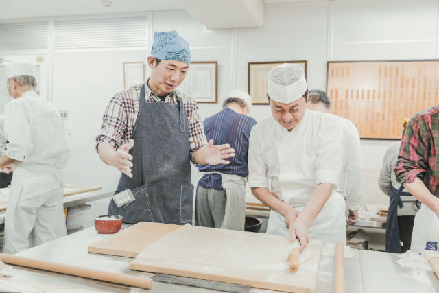 【京都市・そば打ち体験】「現代の名工」の実演付き!そば打ち体験(1~4人向け)