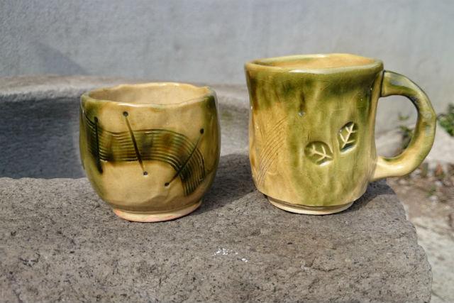 【長野・陶芸体験】湯のみ&好きな器を作ろう!手びねり体験(2個)