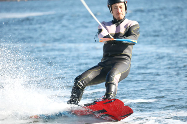 【静岡・浜名湖・ウェイクボード】未経験者限定!ウェイクボード体験(10分×2セット)