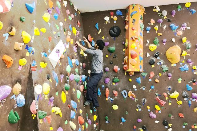 【福島・いわき市・ボルダリング】頂上を目指して登ろう!ボルダリング体験(120分)