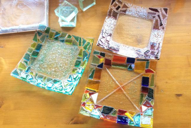 【奈良・フュージング】お皿を自由にデザイン!フュージング体験