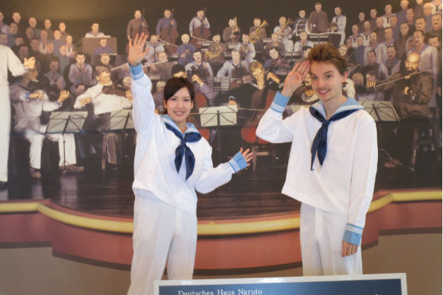 【徳島・鳴門市・ガイドツアー】ドイツ水兵の格好で、ドイツ館を見学しよう!