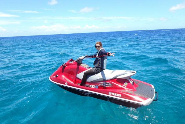 【沖縄・宜野湾市・水上バイク】たっぷり40分ツーリングできる!水上スキープラン