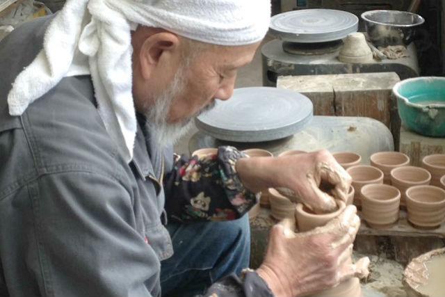 【岐阜・多治見市・陶芸】気ままに制作を楽しめる。マイペース陶芸体験(手びねり・電動ろくろどちらもOK)