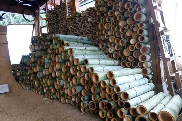 スカッと竹割り体験