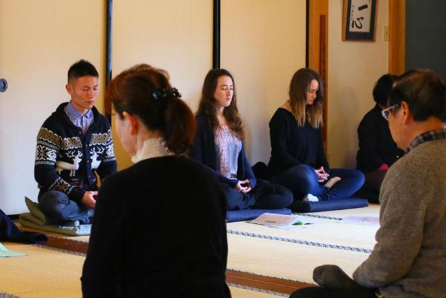 【京都・座禅】自分らしさを取り戻す。精進料理と坐禅体験(洪雲コース・10品)